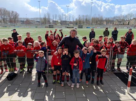 Champions league finale en EK in Ophoven