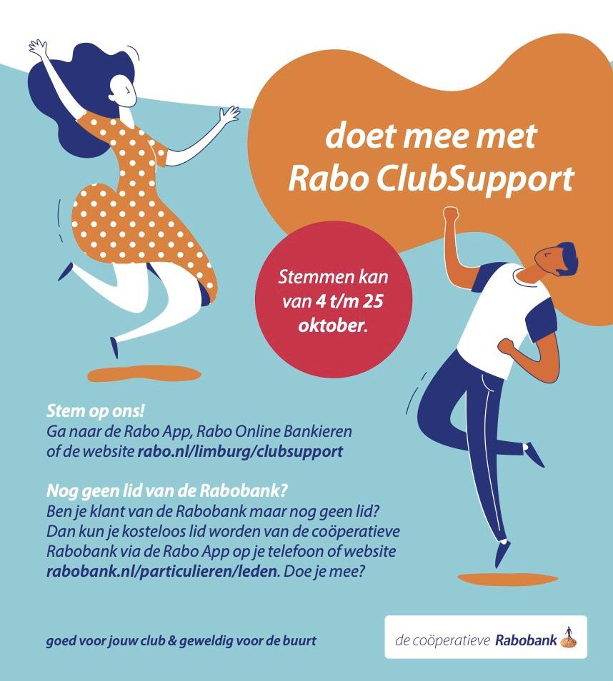 Rabo Clubsupport actie weer van start
